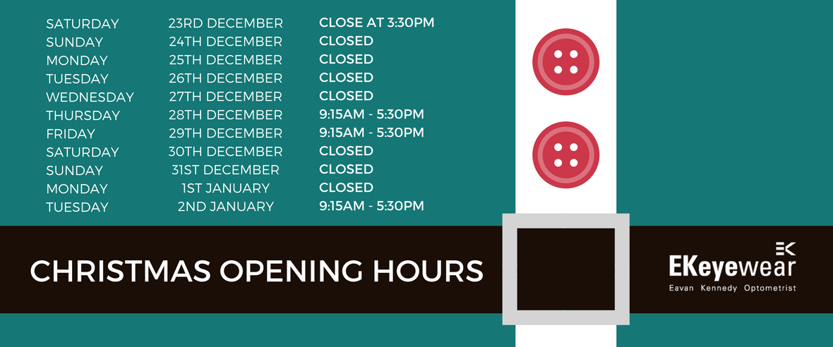 Ek eyewear opticians belfast ek for V bathroom opening hours