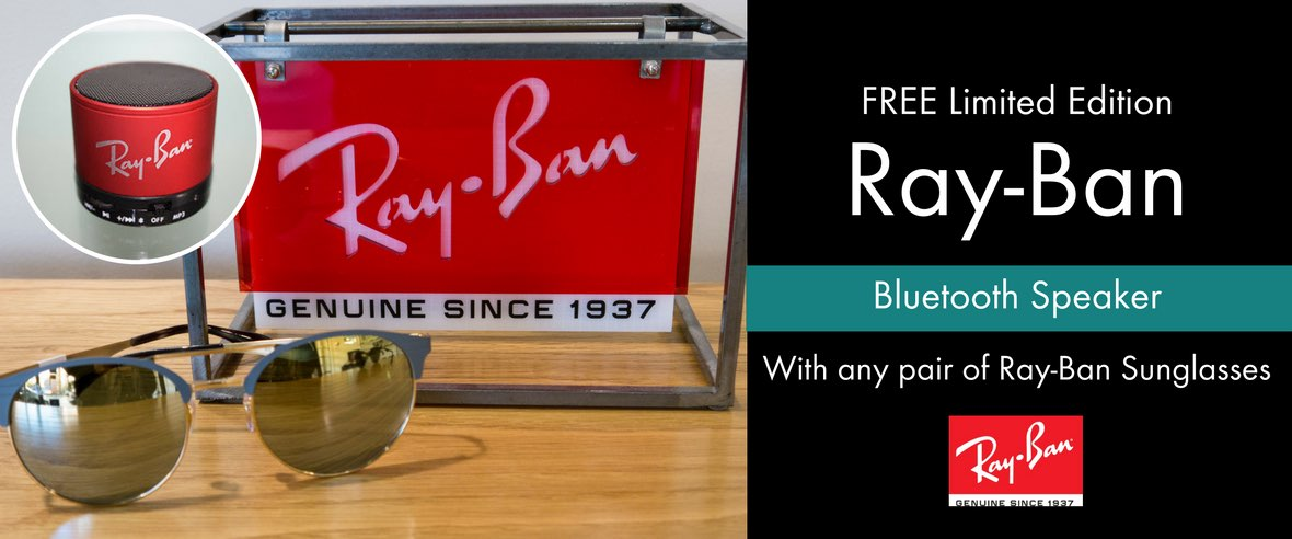 Free Ray-Ban Speakers